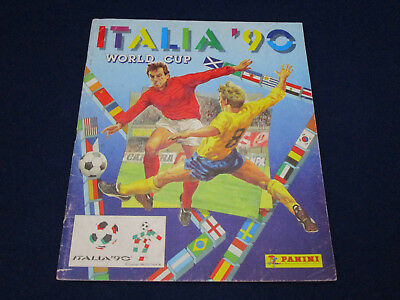 Panini WM WC WK 1990 Italia 90, Leeralbum/empty album, UK/GB version, quite good