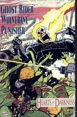 Ghost Rider Wolverine Punisher Hearts of Darkness #1 1991 VG Stock Image