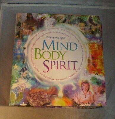 Enhancing Your Mind Body Spirit Binder, approx 200 cards & 40 posters