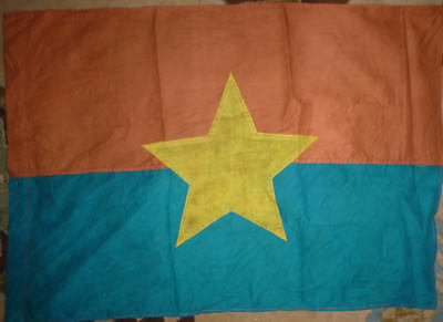 VIET CONG - WAR FLAG - NATIONAL FRONT - LIBERATION of SOUTH VIETNAM - NLF - L