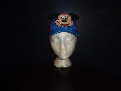 2017 Mickey Mouse Toddler Boys Adjustable Baseball Cap Hat Red Blue Black New