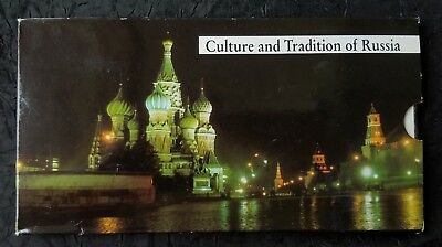 Russia 10 Piece Proof Set, 1988 - 1992, Culture & Tradition of Russia