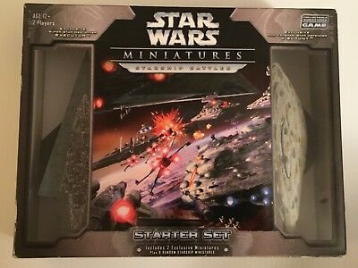 2006 Star Wars Miniatures - Starship Battles Starter Set NIB new in box