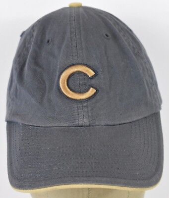 2a997670a ... wholesale navy blue chicago cubs gold logo embroidered baseball hat cap  adjustable strap c9fe1 4f7e7 sale 1912 chicago cubs throw back new era ...