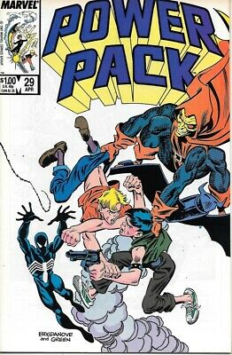 Power Pack Comic Book #29 Marvel 1987 VERY FINE/NEAR MINT NEW UNREAD