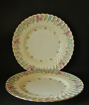 TWO MINTON PRINTEMPS VINTAGE 220mm PLATES