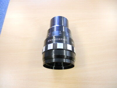 SANKOR 16F ANAMORPHIC LENS FOR 16mm PROJECTORS & CAMERAS. USED