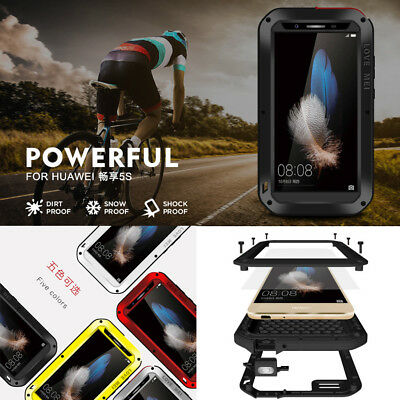 Waterproof Shockproof Metal Aluminum Case Cover For Huawei Mate 9 10 P20 Pro