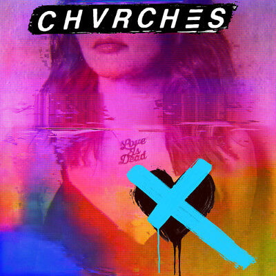 Chvrches - Love Is Dead [New Vinyl LP] Colored Vinyl, Light Blue