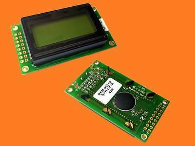 LCD Display DEM08202SYH-LY 2x8 Characters 2x8 Pins mit LED BACKLIGHT Gelb 1 St