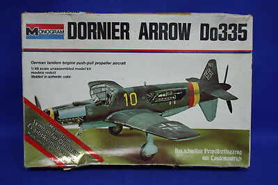 Monogram 7538 Dornier Arrow Do335 1:48 Bausatz 1974