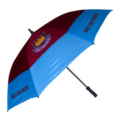 Brand New West Ham United Fc Double Canopy Golf Umbrella.