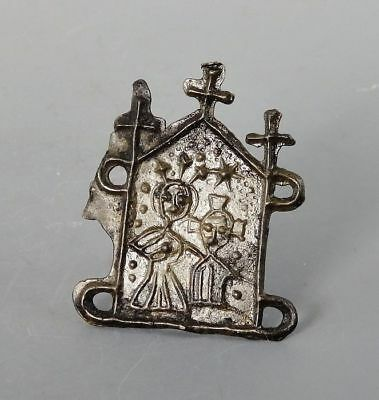 Our Lady's Shrine Medieval Pewter Pilgrim Badge. Superb (L811)