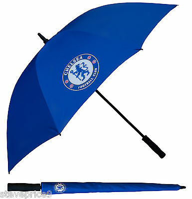 Brand New Chelsea Fc Single Canopy Golf Umbrella.