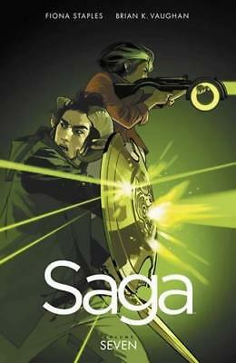 Saga Volume 7 by Vaughan, Brian K | Paperback Book | 9781534300606 | NEW