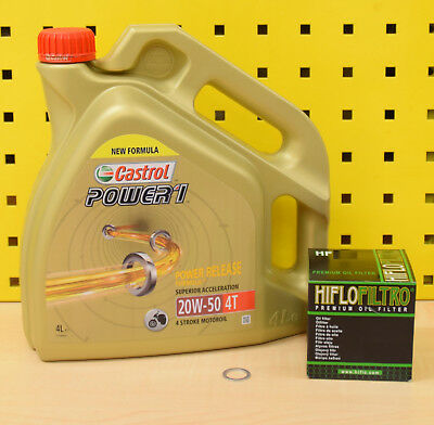 BMW R 850 1100 1150 1200 C CL GS R RT Öl Ölfilter Castrol Power 1 20w50 Motoröl
