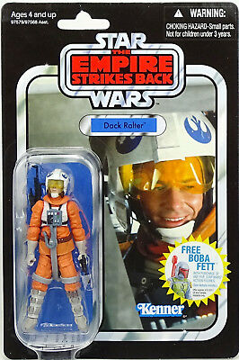 """Dack Ralter """"tesb"""" Vc07 Inkl. Schutzcase Star Wars The Vintage Collection Hasbro"""