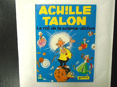1980 : Achille Talon Le Roi De La Science Diction Tbe !