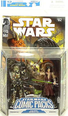 Quinlan Vos & Commander Faie Comic Pack Star Wars The Legacy Collection Hasbro