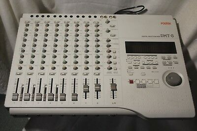 FOSTEX DMT 8 Digital Multitrack Recorder 8 Track
