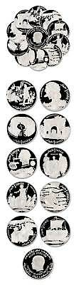 Tunisia Eclectic 10 Coin Proof Set 1969 $472.50 Catalog Value