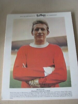 Ty-Phoo Card Denis Law Manchester United & Scotland