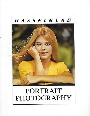 1973 HASSELBLAD CAMERA Guide Brochure Portrait Photography