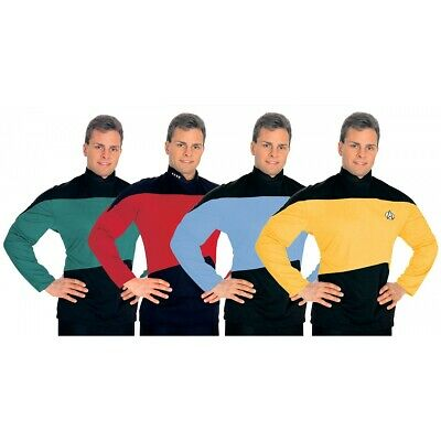 Star Trek The Next Generation Shirt Adult Uniform Costume Fancy Dress