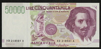 ITALY (P116bc) 50,000 Lire D.1992(1997) aXF/XF Replacement note!
