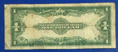 """1923 $1 Blue """"LARGE SIZE"""" SILVER Certificate """"HORSEBLANKET"""" VG X157 Currency"""