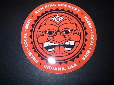 CLOWN SHOES BREWING official promo CIRCLE LOGO STICKER decal craft beer brewery