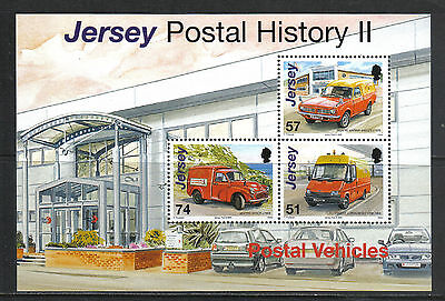 Jersey 2006 Postal Vehicles ss--Attractive Transportation Topical (1241c) MNH