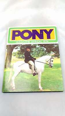 PONY MAGAZINE ANNUAL 1974 by , Hardcover 1973-01-01, Good