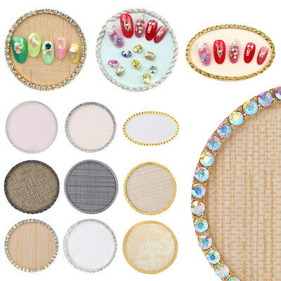 Fashion False Nail Art Plate Tips Display Stand Rack Board Manicure Tool Alloy
