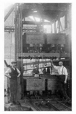 pt4128 - Askern Colliery Pit Head , Yorkshire - photo 6x4