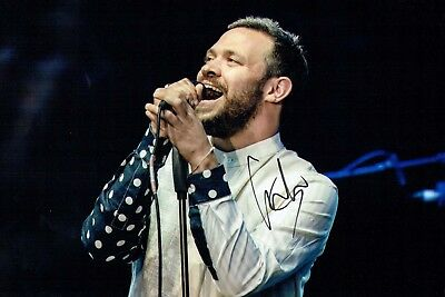 Will YOUNG Signed Autograph 12x8 Photo A AFTAL COA Pop Idol WINNER Singer