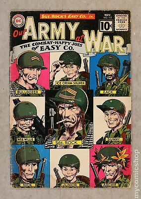 Our Army at War #112 1961 FR/GD 1.5