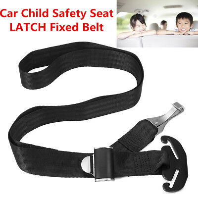 New Car LATCH Toptether Belt Soft Connector Strap Fixed Baby Child Safety Seat