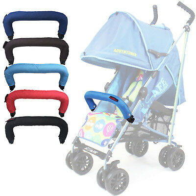 Universal Padded Clip On Bumper Bar To Fit Maclaren Triumph Pushchair