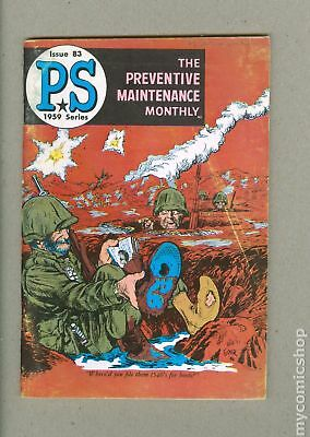PS The Preventive Maintenance Monthly #83 1960 VG 4.0