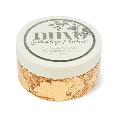 Tonic Studios 852n Nuvo Gilding Flakes, 6.8 Oz, Sunkissed Copper
