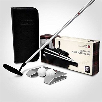 Longridge Unisex Executive Golf Putting Set, Black, One Size