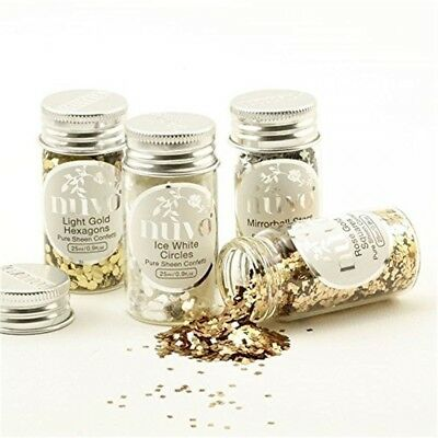 Tonic Studios Nuvo Pure Sheen Confetti Golden Years