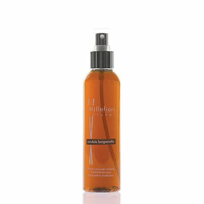MILLEFIORI Natural New Home Spray Raumspray 150 ml SANDALO BERGAMOTTO