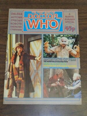 Doctor Who Very Best Of Summer Special 1981 British Weekly Monthly Dr Who
