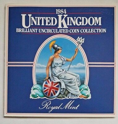 1984 Royal Mint UK Uncirculated Coin Collection 8 Coin Set Harry & Meghan Markle
