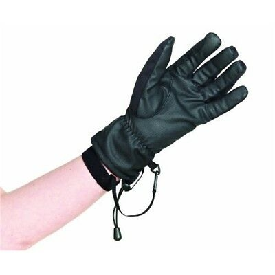 Caldene 3 In 1 Riding Glove - Black, X-small - Gloves 3in Black