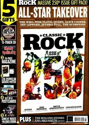 Classic Rock Magazine + Cd July 2018 (Massive 250Th Issue + Gift Pack)