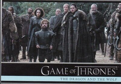 2018 Season 7 Game Of Thrones Tyrion Jon Daenery's Supporters Trading Card #19