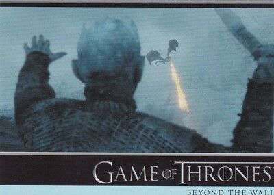 2018 Season 7 Game Of Thrones Jon Daenerys And Her Dragons Trading Card #18
